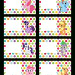 Super Cute Collection Of Free My Little Pony Party Printables. This   Free My Little Pony Party Printables