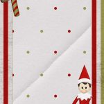 Super Cute Free Downloadable Elf On The Shelf Note. Customize   Free Printable Elf Stationery