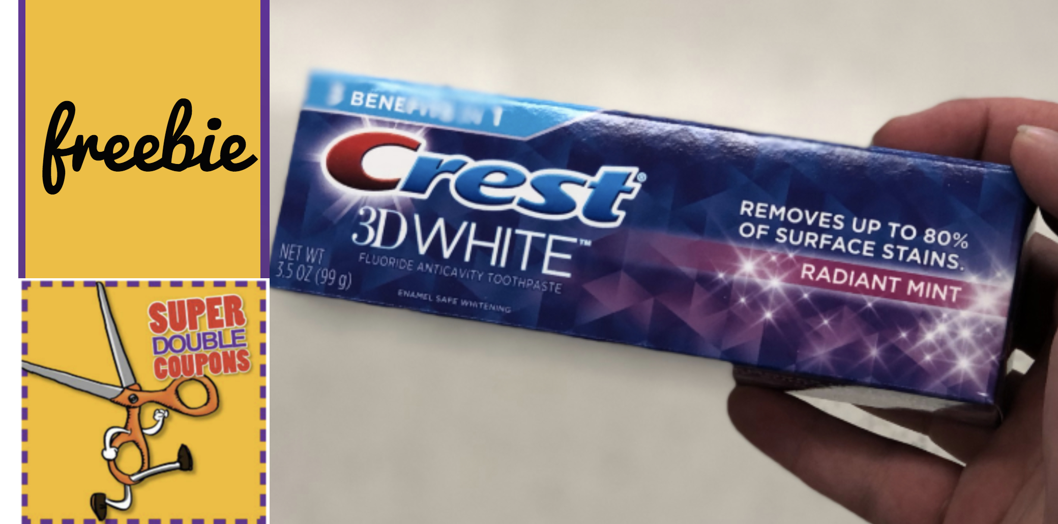 Super Doubles; Free Crest Toothpaste - Moola Saving Mom - Free Printable Crest Coupons