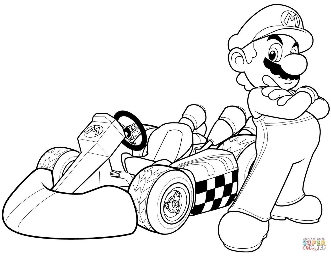 Super Mario Bros. Coloring Pages   Free Coloring Pages - Mario Coloring Pages Free Printable