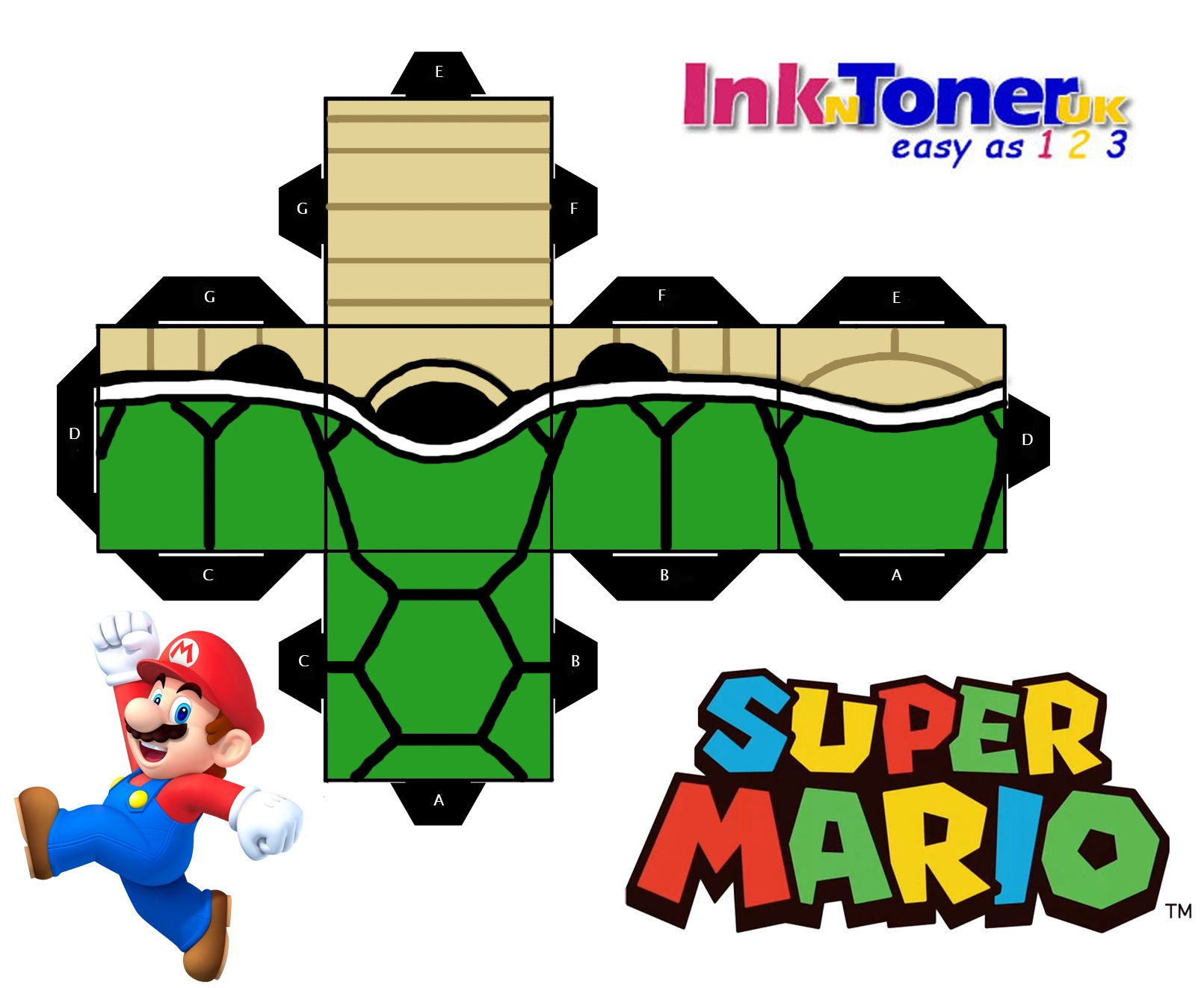 Super Mario Printables (89+ Images In Collection) Page 1 - Free Mario Printables