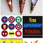 Superhero Backdrop | Neice Babyshower | Superhero Birthday Party   Free Superhero Party Printables