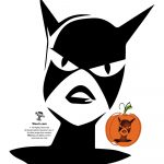 Superman, Batman, Wonder Woman & Dc Comics Villains Pumpkin Stencils   Superhero Pumpkin Stencils Free Printable