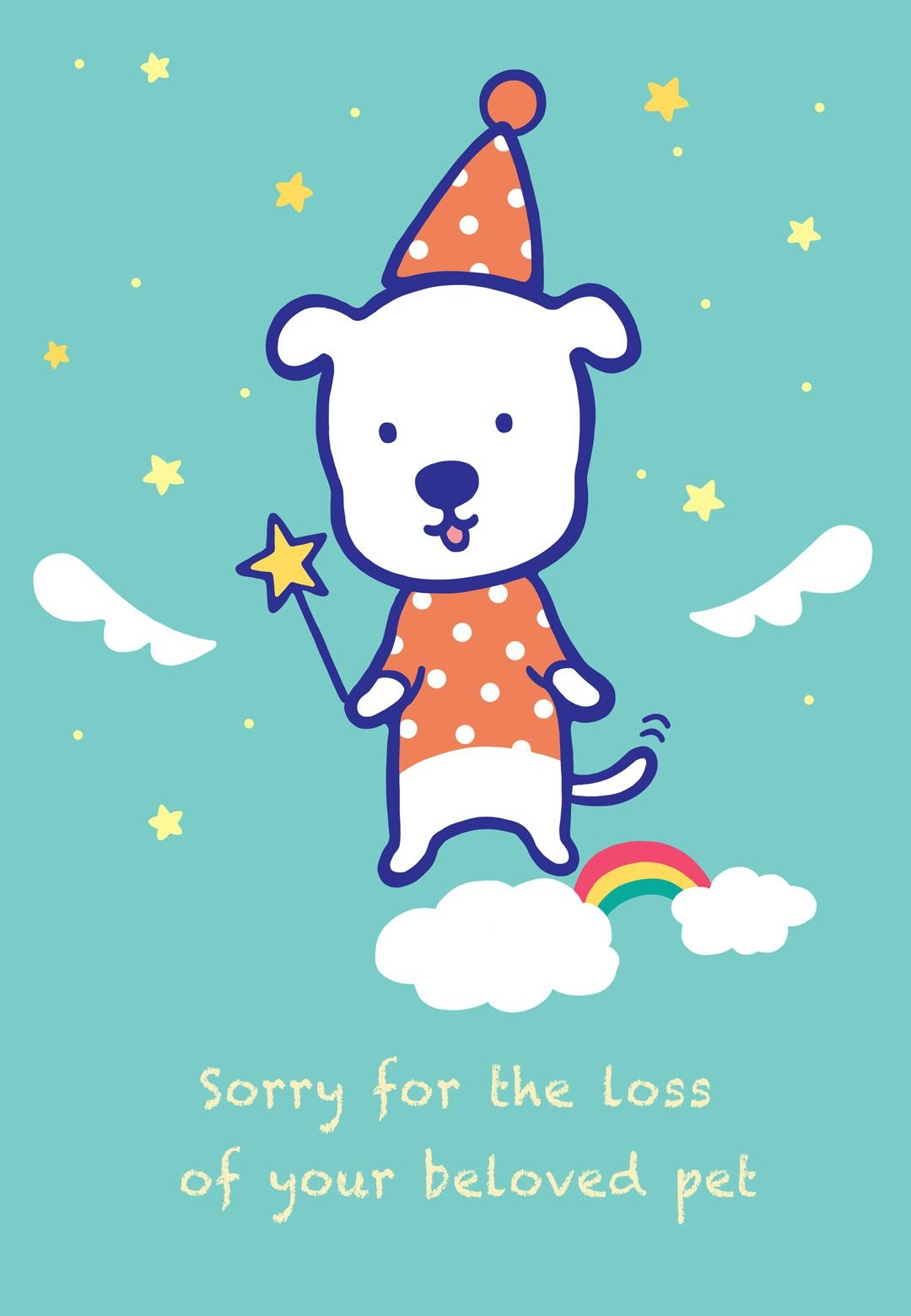 Sympathy #card For The Loss Of A #pet - Free Printable | Sympathy - Free Printable Sympathy Card For Loss Of Pet