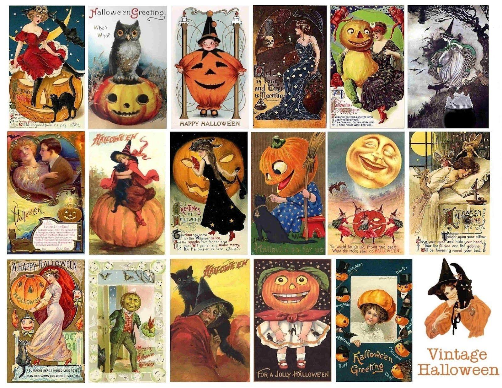Sympletymes Cloth Artsherrie Nordgren: Free Vintage - Free Printable Vintage Halloween Images