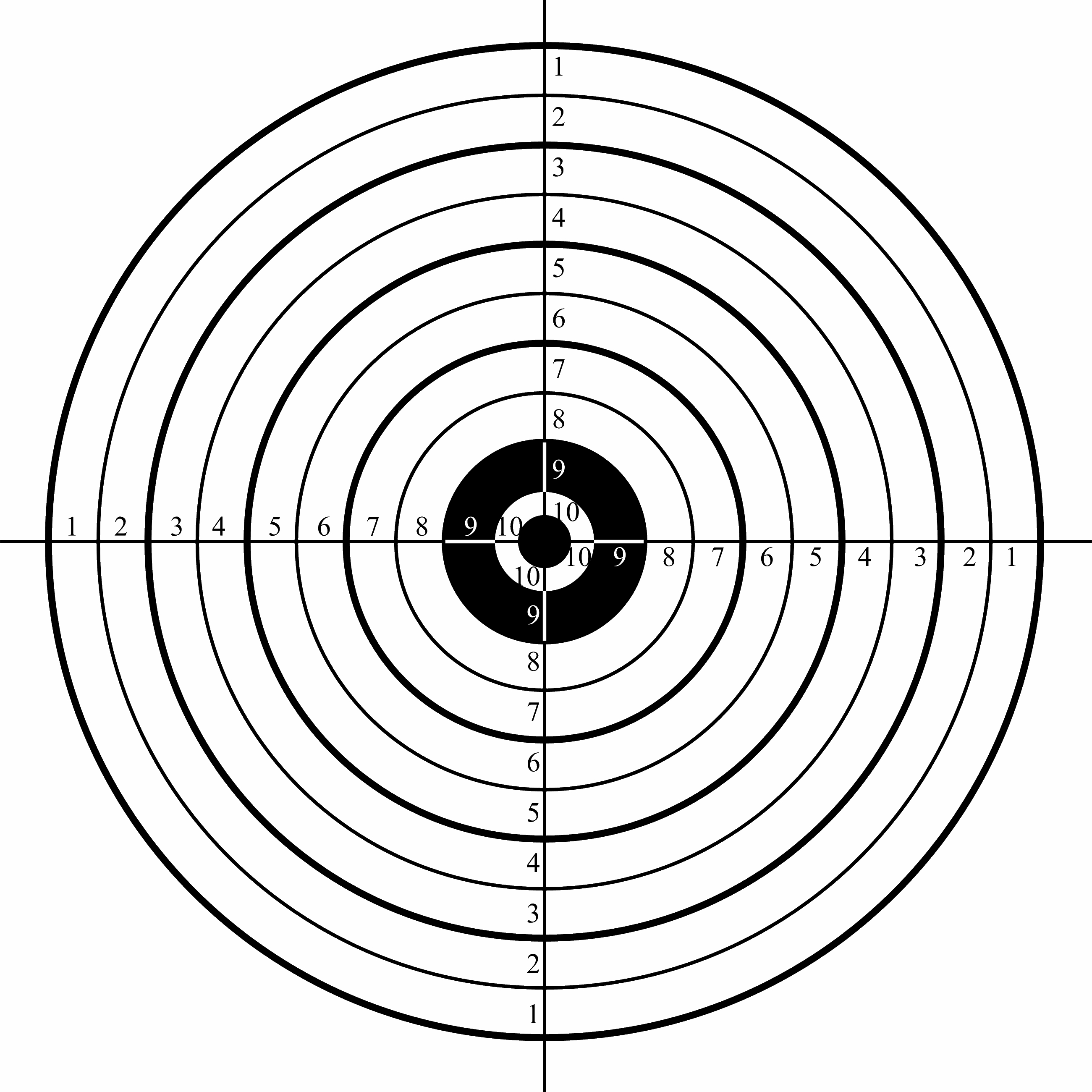 Targets | Roseburg Gun Club - Clipart Best - Clipart Best | Act - Free Printable Targets For Shooting Practice