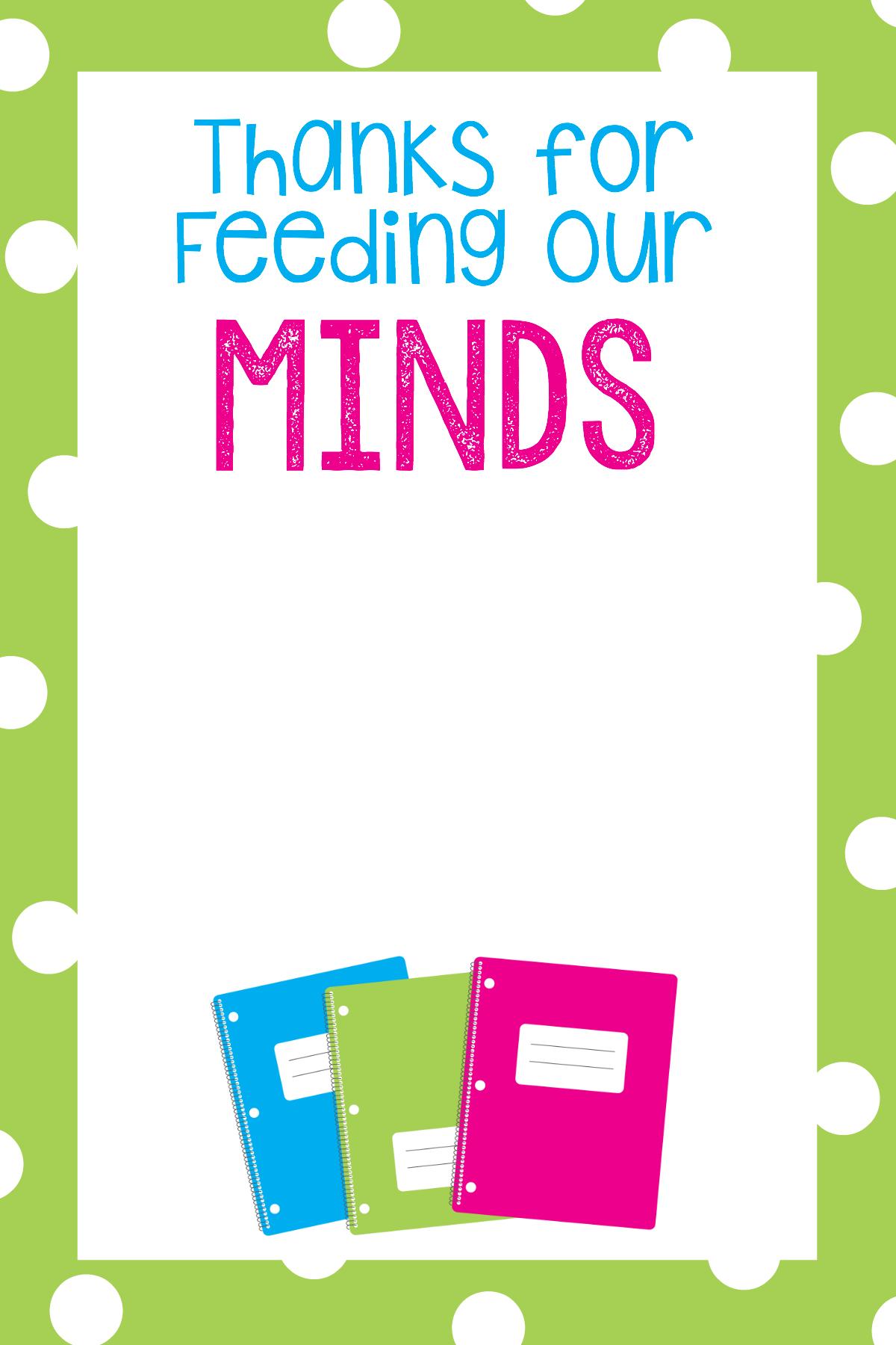 Teacher Appreciation Gifts-Printable Gift Card Holders - Free Printable Teacher Appreciation Cards