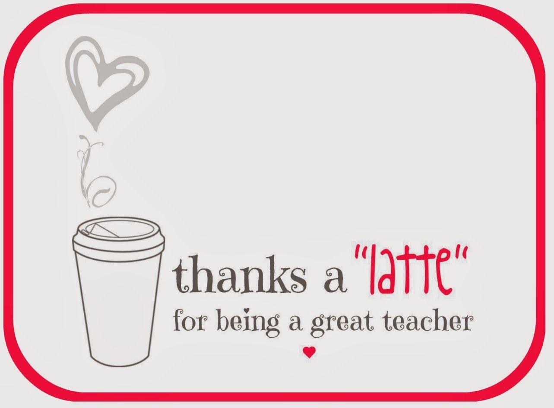 Teacher Valentine Free Printable Via A Lo And Behold Life   Teacher - Thanks A Latte Free Printable