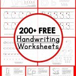 Teaching Handwriting   The Measured Mom   Free Printable Handwriting Worksheets