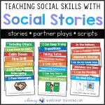 Teaching Social Skills With Social Stories   Whimsy Workshop Teaching   Free Printable Social Story Template