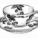 Teacup Print | Craft & Create | Tea Cup Drawing, Tea Cups, Tea   Free Printable Tea Cup Coloring Pages