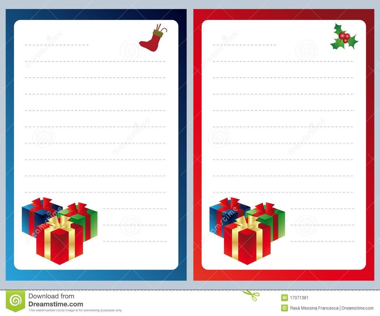 Template Letter To Santa Http Webdesign14 Com. Screenshot The - Free Printable Christmas Card List Template