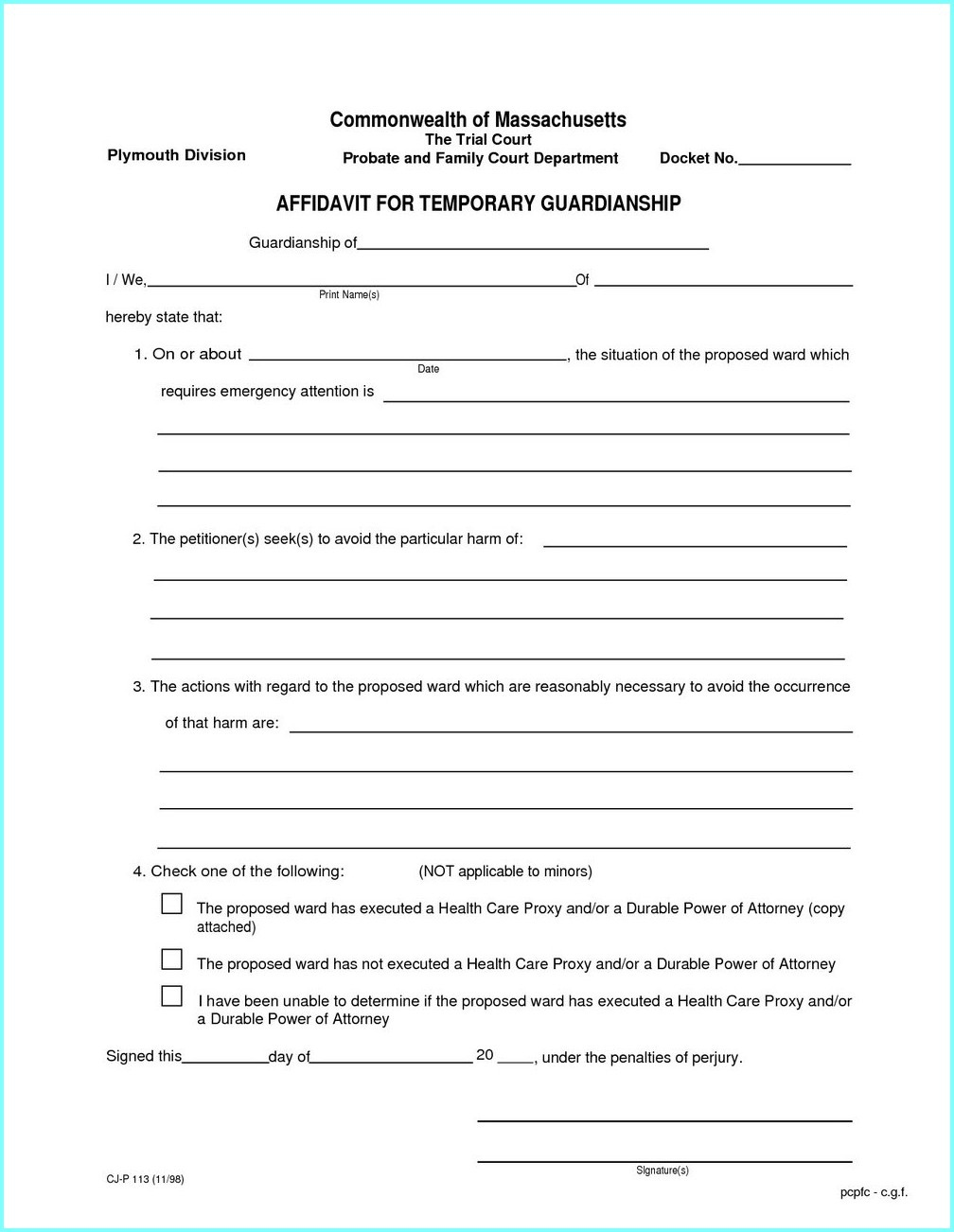 Temporary Guardianship Forms Texas - Form : Resume Examples #y23Akqaq0N - Free Printable Guardianship Forms Texas