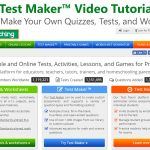 Test Maker   How To Create Your Own Worksheets Video Tutorial   Free Printable Test Maker For Teachers