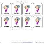 Testy Yet Trying: April 2012   Free Printable Old Maid Card Game
