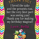 Thank You Cards For Birthday Shopkins Thank You Card Shopkins   Shopkins Thank You Cards Free Printable