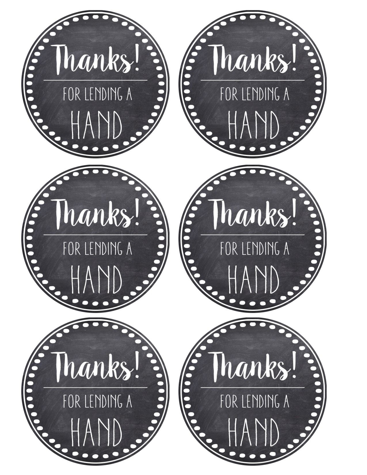 Thank You & Teacher Appreciation Tags Free Printable Card. Attach To - Free Printable Pedicure Gift Certificate