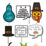 Thanksgiving Can Be Fun But It Can Also Be Stressful. If Uncle Joe   Free Printable Thanksgiving Photo Props