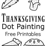 Thanksgiving Dot Painting {Free Printables} | Best Of Kids And   Free Thanksgiving Printables Dot To Dot