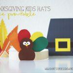 Thanksgiving Kids Hats – Free Printables – Short Stop Designs   Free Printable Pilgrim Hat Pattern