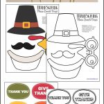 Thanksgiving Photo Booth Props   Growing Play   Free Printable Thanksgiving Photo Props
