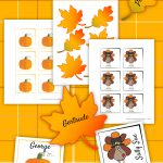 Thanksgiving Place Card Printable   Thanksgiving Printables   Free Printable Thanksgiving Place Cards To Color