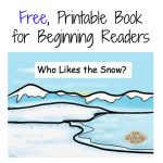 The Activity Mom   Free Printable Winter Book For Beginning Readers   Free Printable Books For Beginning Readers