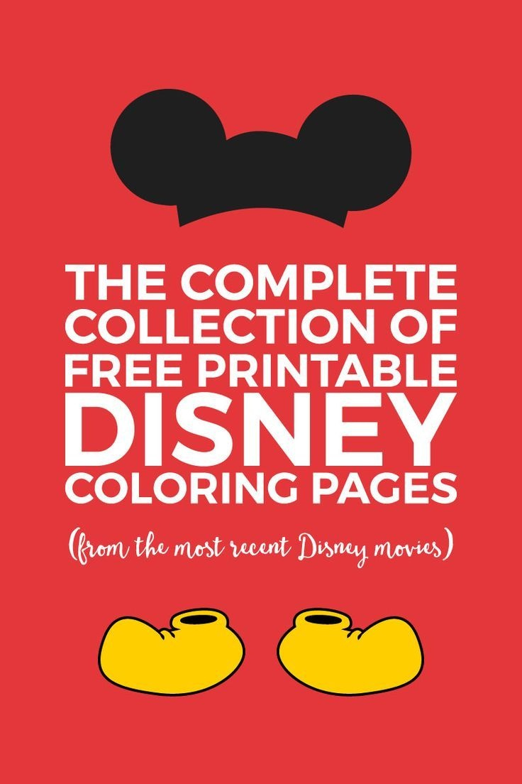 The Best Collection Of Free Disney Coloring Pages | Disney World - Free Disney Printables