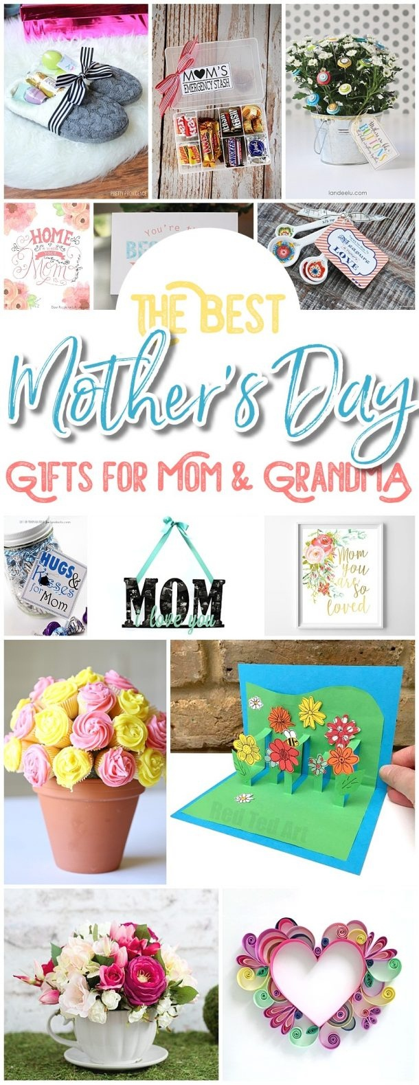 The Best Easy Diy Mother's Day Gifts And Treats Ideas – Holiday - Free Printable Mothers Day Crafts