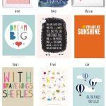 The Best Of: Free Nursery Art Printables | Nice For The Nursery   Free Nursery Printables Boy