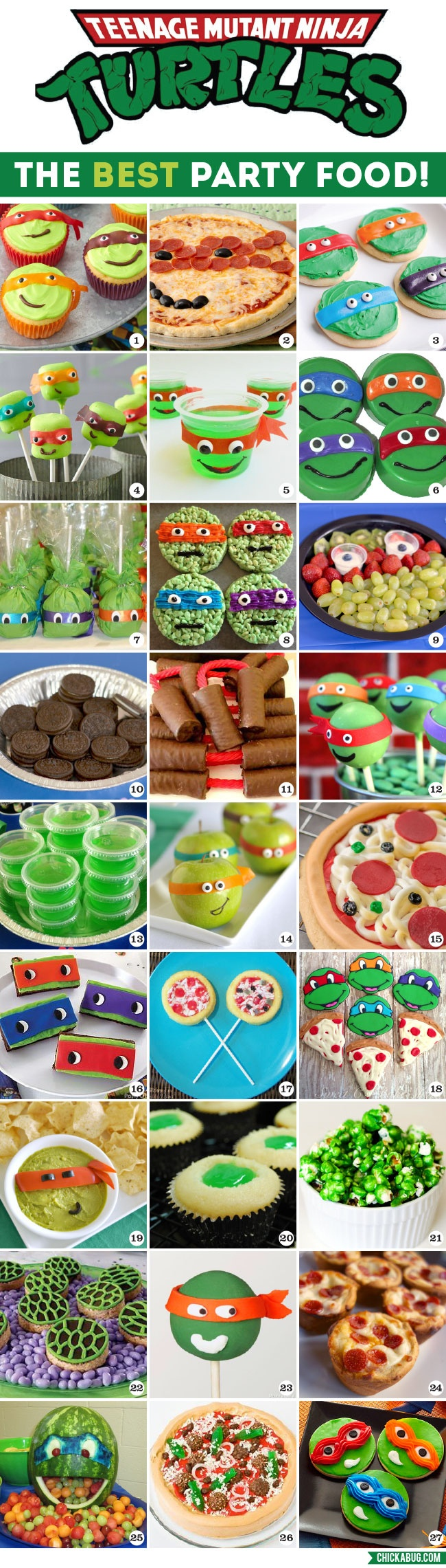 The Best Tmnt Party Food! | Chickabug - Free Printable Tmnt Food Labels