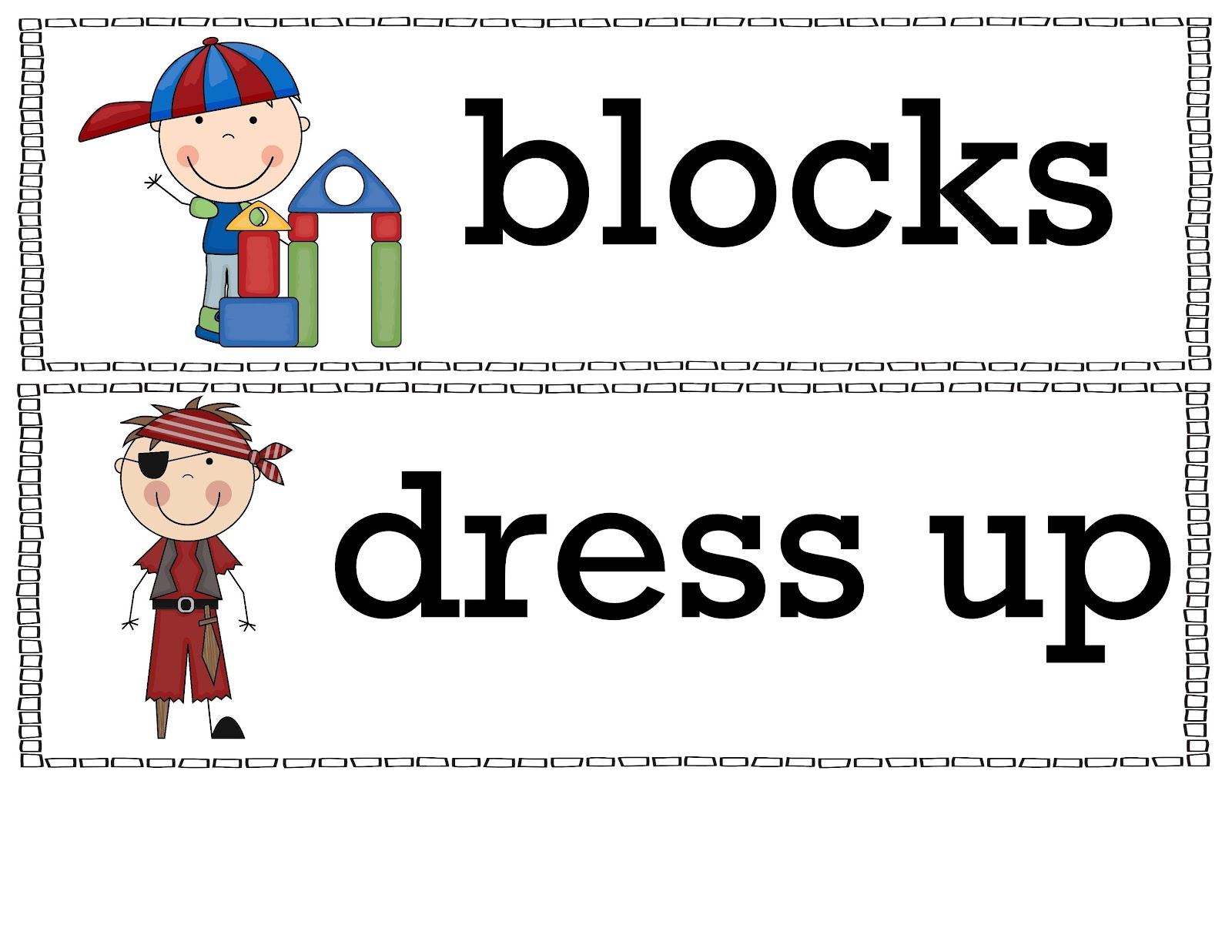 The Crazy Pre-K Classroom: Free Classroom Bin Labels! - Free Printable Classroom Labels With Pictures