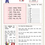 The First Syllable Type Worksheet   Free Esl Printable Worksheets   Free Printable Open And Closed Syllable Worksheets