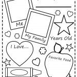The Frogs And The Flutterbyes: All About Me Free Printable   Free Printable All About Me Poster