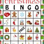 The Kurtz Corner: Free Printable Christmas Bingo Cards | Winter / X   Free Printable Bingo Cards For Large Groups
