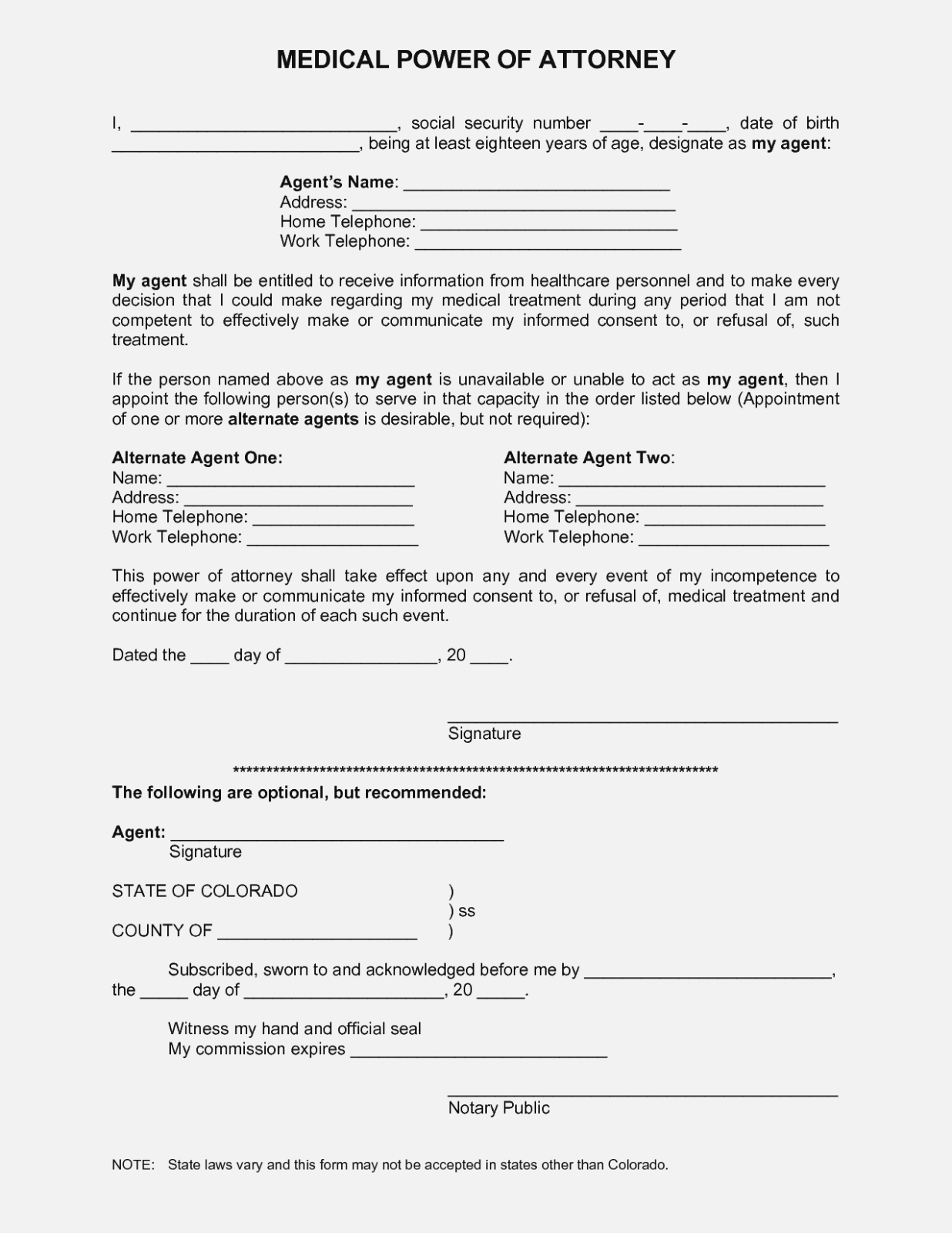 The Latest Trend In Online   The Invoice And Form Template - Free Printable Power Of Attorney Forms Online