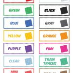 The Magical Lego Organizing Solution & Free Printable Labels   Free Printable Labels For Storage Bins