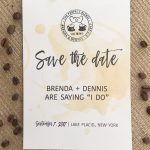 The Perfect Blend Save The Date Card : Free Wedding Invitation   Free Printable Save The Date Invitation Templates