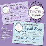 The Polka Dot Posie: Free Tooth Fairy Receipt Printable   Free Tooth Fairy Printables