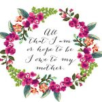 The Prettiest Mother's Day Cards You Can Print For Free | Mother's   Free Printable Mothers Day Cards To My Wife
