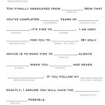 These Mad Libs Are Perfect For Any Graduation Party. | Gradation Mad   Free Printable Graduation Party Games