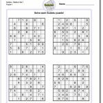 These Printable Sudoku Puzzles Range From Easy To Hard, Including   Www Free Printable Sudoku Puzzles Com
