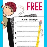 Thieves Reading Strategy: Free | Tpt Free Lessons | Pinterest   Free Printable Read Naturally Passages