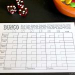 This Free Bunco Score Sheet Makes Room To Tally And Keep Track Of   Free Printable Halloween Bunco Score Sheets