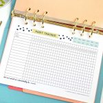 This Free Printable Habit Tracker Will Help You Reach Your Goals   Free Printable Habit Tracker