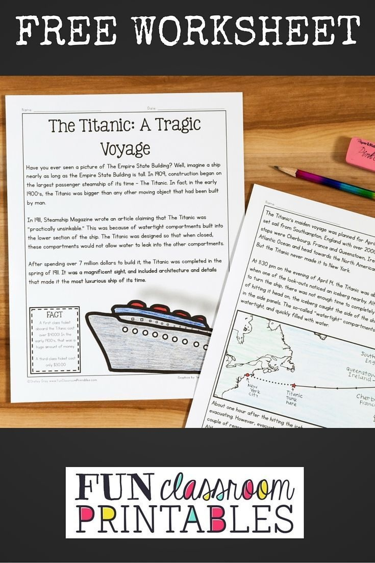 This Free Reading Comprehension Activity Is Ideal For Grades 3-5 - Free Printable Read Naturally Passages