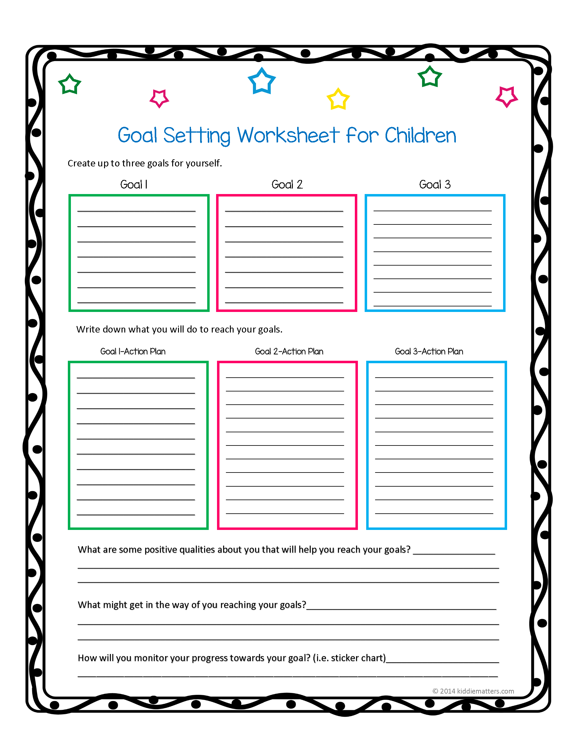 This Worksheet And Free Printable Helps Children Learn How To Set - Free Printable Life Skills Worksheets For Adults