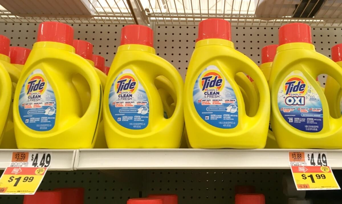 Tide Simply Detergent As Low As $0.99 At Stop & Shop, Giant, Giant - Free Printable Tide Simply Coupons