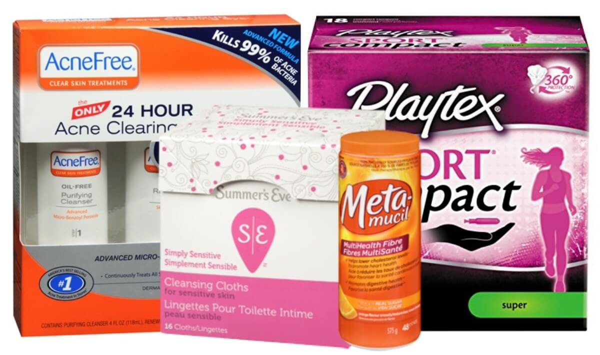 Today's Top New Coupons - Save On Summer's Eve, Playtex, Acnefree - Acne Free Coupons Printable