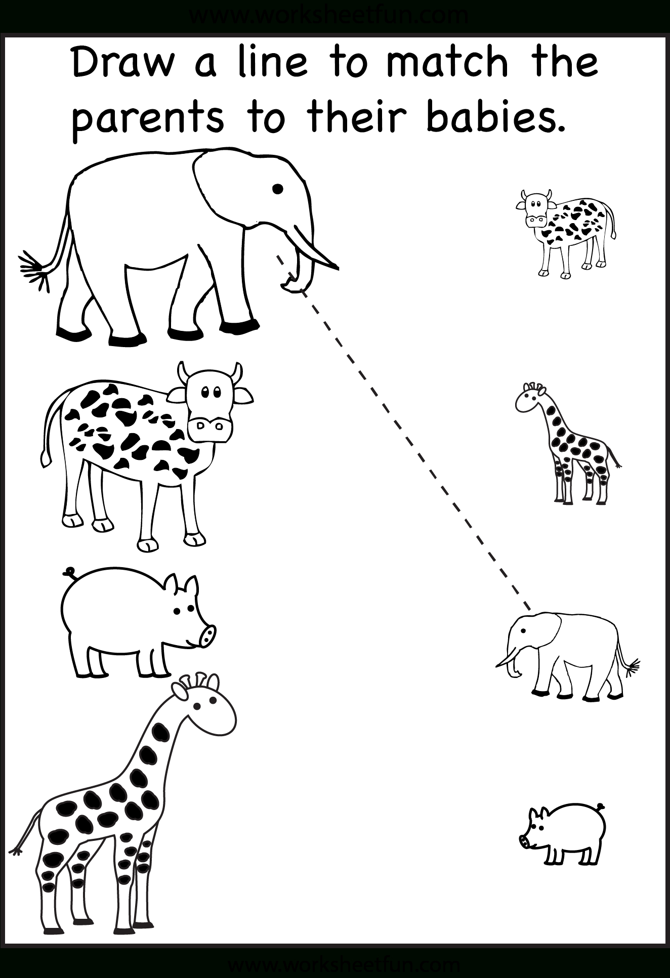 Tons And Tons Of Free Printables! Tracing, Matching, Etc - Free Printable Toddler Worksheets